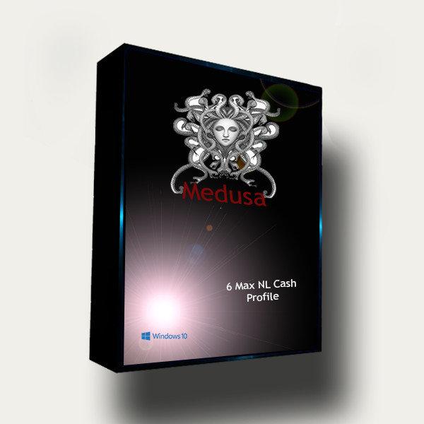 Medusa 6 Max Cash Poker Bot